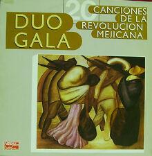 DUO GALA-CANCIONES DE LA REVOLUCION MEJICANA LP VINILO 1988 SPAIN