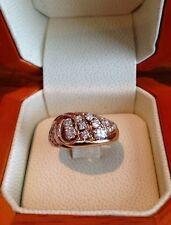 Stunning 14kt Yellow Gold Diamond Cocktail Ring!! Free Shipping!!
