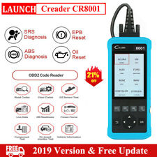 Check Engine LAUNCH CR8001 ABS SRS Airbag Code Reader OBD2 Scanner Diagnostic US