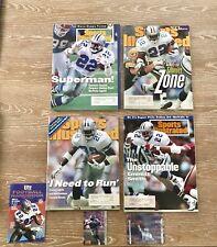 Sports Illustrated Emmitt Smith Magazines Set Of 4 Dallas Cowboys NFL