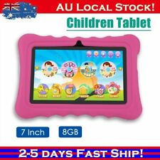 "7"" Quad Core Tablet for Kids Google Android 4.4 8GB Dual Camera Children Aussie."