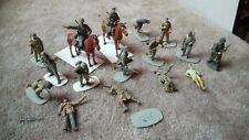 German Segunda Guerra Mundial & Caballos Figuras Trabajo Lote 1/35 Pro construido/hecho Repuestos O Reparación