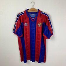 BARCELONA HOME FOOTBALL SHIRT 1995/1997 VINTAGE SOCCER JERSEY MENS KAPPA SIZE XL