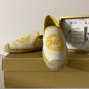 💐 Michael Kors 💐 Hastings Cotton Espadrille Shoes Size 6.5 NEW AUTH 💐