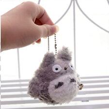 2x Cute Japan Anime Mini My Neighbor Totoro Plush Bag Toy Doll Pedant Keychain