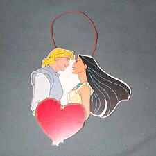 Disney Pocahontas Ornament with Captain John Smith, Red Heart, Kurt S Adler