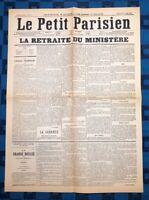 La Une Du Journal Le Petit Parisien 18 Mai 1877 L'Affaire Du 16 Mai