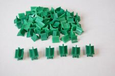 Castle Risk game replacement pieces - qty 80 single army 6 ten army - green