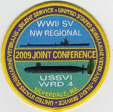 2009 Joint Conference USSVI Western District 4 Silverdale, Wa - BCPatch No C6925