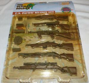🎖️ NIP 21st Century Toys Ultimate Soldier U.S. PACIFIC 1:6 Weapon Set