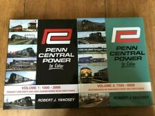 Penn Central Power in Color Volume 1 and 4 - Very Good Condition