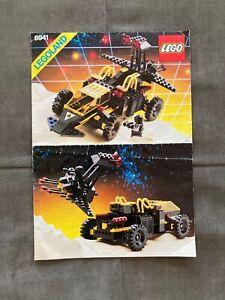 LEGO 6941 Blacktron I Battrax Instructions Manual NO PIECES