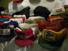30 Vintage Snapback Trucker HATS ALL USA Farm Tractors Seed Dekalb Ford O,s Gold