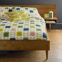 Orla Kiely Summer Flower Duvet Cover 100% Cotton Bedding 200 Thread Count