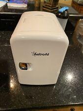 Astro Ai White Portable Mini Refrigerator 4 Liters 110V 12V Hot And Cold Bnib