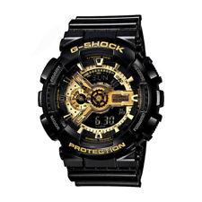Casio G-Shock Analog Digital Anti-Magnetic Black Mens Watch GA110GB-1A