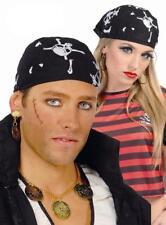 Lote 10 pañuelos pirata para disfraz