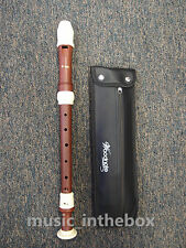 Woodnote-Pro. Twin Color Alto Recorder (Wood Simulated & Ivory)+Free shipping