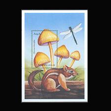 Angola, Sc #1105, MNH, 1999, S/S, Mushrooms, Fungi, Insects, Squirrel, FU57F
