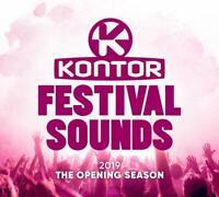 KONTOR FESTIVAL SOUNDS 2019-THE OPENING SEASON  3 CD NEU