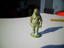 Last One 1947 Vintage SRG Small Cavewoman Neanderthal Figure Bronze Nice Patina