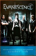 Evanescence S/T Ltd Ed New Rare Tour Poster +Bonus Rock Metal Poster! Synthesis