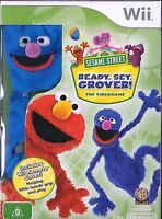 NINTENDO Wii NEW Sealed Game SESAME STREET Ready Set Grover inc Wii Remote Cover