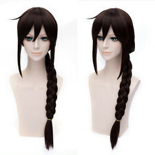 Long Brown Pony Tail Lara Croft Tomb Raider Ladies Cosplay Braid Hair Wigs