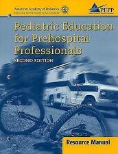 Pediatric Education For Prehospital Professionals o2e Instructors Resource EMT