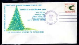 1¢ WONDER'S ~ US CHRISTMAS TOPICAL LEGEND OF CHRISTMAS TREE 1973 ~ C620
