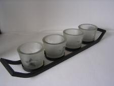 """Lichterboard """"Sternenglanz, 5-teilig, Kerzen, Kerzenhalter, Teelichter, Advent"""