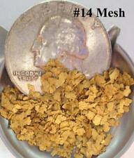 GOLD NUGGETS 6+ GRAMS Alaska Natural Placer #14 Mesh Jewelers Grade Hi Purity