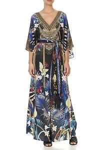 CAMILLA Rainbow Room Scarf Jumpsuit With Belt RRP $999