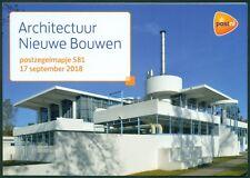 NEDERLAND: PZM 581 ARCHITECTUUR NIEUWE BOUWEN.