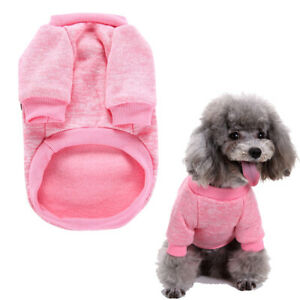 Pet Dog Jumper Sweater Puppy Fleece Knitted Clothes Coat Chihuahua Yorkie