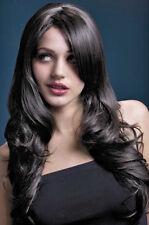 Nicole Parrucca marrone Deluxe NUOVO - CARNEVALE PARRUCCA CAPELLI