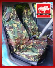 CAR VAN MPV 4X4 CAMOUFLAGE DPM HEAVY DUTY WATERPROOF SEAT COVERS 1+1
