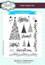 Creative Expressions Clear Stamp Set CEC797 Magical Christmas REDUCED