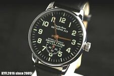 MILITARY style vintage Russian wristwatch OLD stock Pobeda Storm-333 KGB CCCP