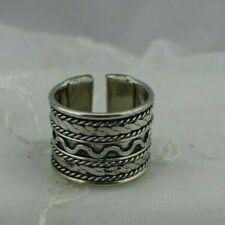 Handmade Plated Brass Ring Adjustable after size 8 Men & Women !!!