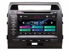"Toyota land cruiser LC200 Car DVD GPS navigation Head unit Radio Stereo TV 8"""