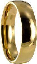 Edelstahl L316 gold Ring Partnerring Trauring Ehering incl. gratis Gravur 10061