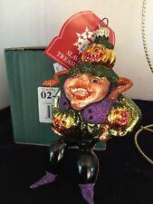 "Beasty Pumpkin 5.75"" Slavic Treasures 02-549 Halloween Harvest Series Nib"