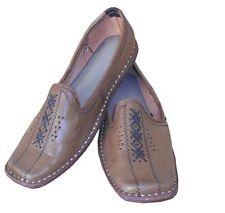Mojari Men Shoes Loafers Handmade Leather Jutti Sandal Flip Flops UK 8.5 EU 42