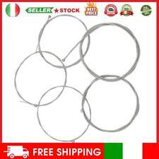 Set di 5 corde in acciaio per 5 corde per basso elettrico #11