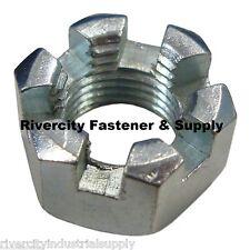Farmall Tractor Radiator Fuel Tank Castle Nuts 7/16-20 Fine Thread Lot of 5 New
