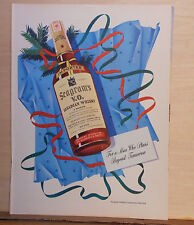 1943 magazine ad for Seagram's V.O. Whiskey - Christmas ad, for man who plans