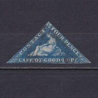 CAPE OF GOOD HOPE 1855, Sc# 4, CV $85, Wmk anchor, USED