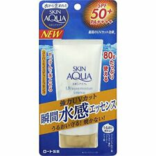 Rohto Sunscreen Super Moisture Essence water proof SPF50 PA++++80g From Japan