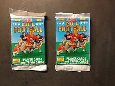 1989 SCORE FOOTBALL 2 PACK DEAL OF UNOPENED WAX PACKS POSSIBLE SANDERS & AIKMAN